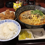 らーめん熊吉 - 料理写真:ラーメンセット880円(税込)