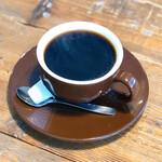エース バーガー カフェ - モーニングセットのコーヒー。