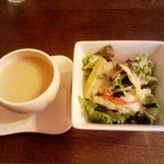 12615238 - スープ&サラダ