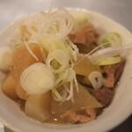 クラフトビアバル IBREW - もつ煮