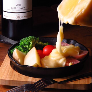 ◆五感で楽しめる濃厚チーズを堪能