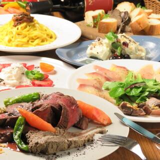 ◆ジビエ&チーズが集う宴会コース