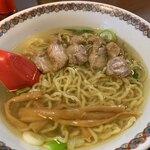 中華そば 嘉一 - 鶏チャーシュー麺