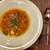 さくら vita - パスタランチにセットのミネストローネは、立派なスープ皿でボリュームしっかり