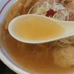 麺屋つむぎ - スープ
