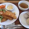 あまづキッチン - 料理写真:★★★☆ シーフードミックスフライ パンがご飯を選べます