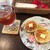 ベリーズティールーム - 料理写真:クランペットset(1,100円)