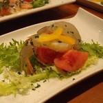 野菜ダイニング 菜宴 - 車海老のあぶりマリネ