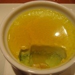 野菜ダイニング 菜宴 - ほうれん草のプリン中身