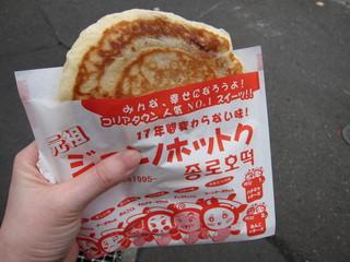 鐘路福餅 21世紀HoTok - ホットク・はちみつ味