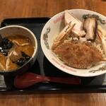 北じんじん - 料理写真:濃カニつけ麺 並