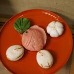 老松 - 有識菓子の展示