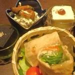 Soujyuan - 1800円ランチ 前菜