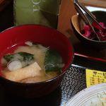 ひろ坊 - 味噌汁