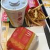 マクドナルド - 料理写真:ベーコンマックポークセット 500円