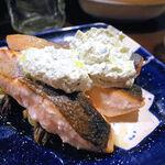 エゾットリア - 魚(サクラマスのムニエル 山わさびソース)