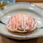 鮨 十兵衛 - 香箱蟹