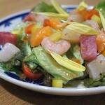 kuzushikappoutokoshitsuiori - 豪華海鮮サラダ