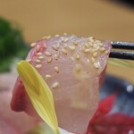kuzushikappoutokoshitsuiori - 胡麻カンパチ