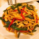 華錦飯店 - 青椒肉絲