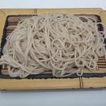 そばっ子 - 2012.4 えび天丼セット(700円)セットの内もりそば