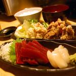 easy - 刺身定食800円