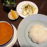 タイ料理サバイ・サバイ -  ゲーン・マッサマン(ランチメニュー):800円/2020年2月