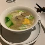 126192169 - 塩玉子と豚肉のスープ