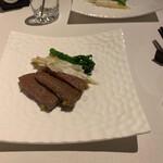 126192170 - 牛肉の冨麗華酒炒め