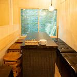 月島 天ぷら酒場@rkitchen - テーブル2