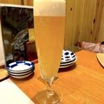 貝料理 吟 - 生ビール