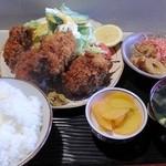 お食事処 田川 - カキフライ定食
