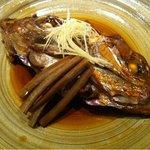 12620522 - 鯛かぶと煮(お造り・煮付け御膳より)