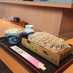 そば処 とう庵 - 料理写真:もりそば ¥550