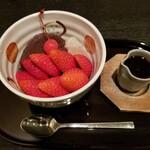 Irie - 苺あんみつ 880円