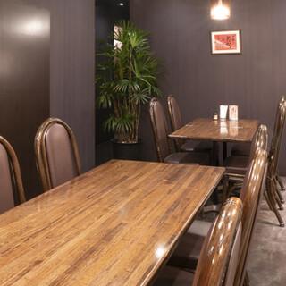 広々した落ち着いた空間は歓送迎会など各種宴会にも最適♪個室◎