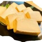 クリームチーズの九州醤油漬け