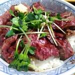 小樽食堂 - ビフテキ丼