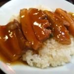 12621437 - 角煮丼のアップ!