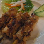 ベトナム料理専門店 サイゴン キムタン - 鶏肉のレモングラス巻きグリル