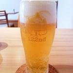 洋食堂 はなや - プラス100円すれば、コーヒー・紅茶をランチビールに変更できます(ヱビスビールで美味しいですよ~)