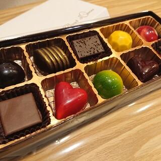 シャンドワゾー・グラシエ・ショコラティエ - 料理写真:
