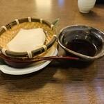 月の蔵人 - ざる豆腐
