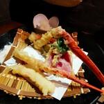 washokuizakayashummon - 紅ずわい蟹天婦羅