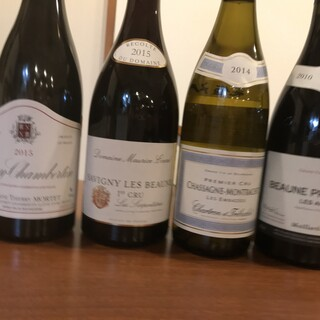 料理と合わせて楽しめる、フランスワインをリーズナブルにご提供