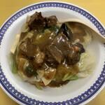 三十番 - 牛バラと野菜あんかけご飯