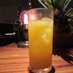ボルベール - フリードリンクのオレンジブロッサム(ジン+オレンジ)