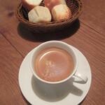 ボルベール - setコーヒー 100円(税別)