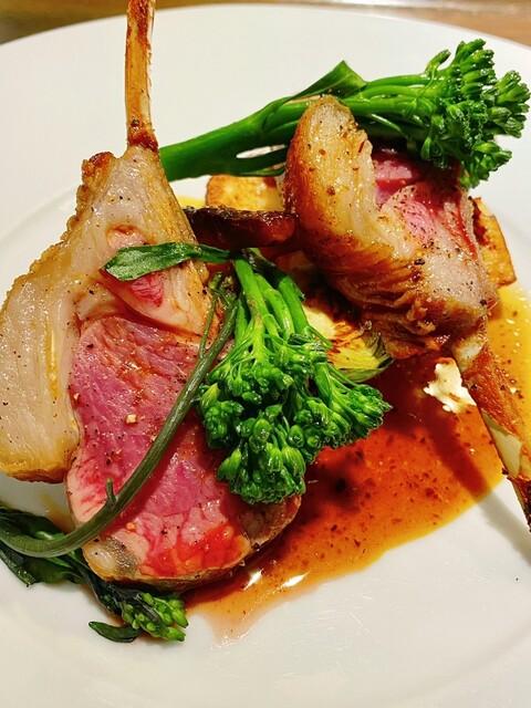Les deux - ニュージーランド産仔羊のロースト肉