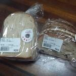 山中屋製パン - イチジクパンと食パン
